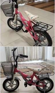 Basikal untuk kanak-kanak bersaiz 10 inci