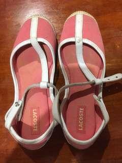 Original Lacoste shoes for ladies