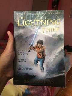 Percy Jackson Lightning Thief Graphic Novel