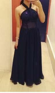 Infinity long gown(black)