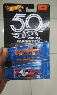 hotwheels 50th favourites AMC JAVELIN FORD ECOLINE