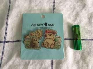 Snoopy Olaf pin 襟章