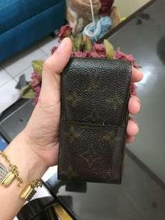 Authentic Louis Vuitton lv cigar case not gucci zara prada chanel
