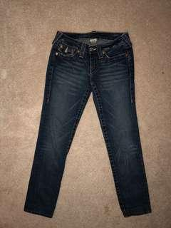 True Religion fitted jeans size 26