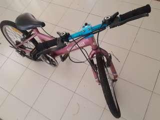 Basikal untuk kanak-kanak bersaiz 20inci