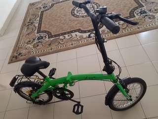 Basikal folding untuk dijual
