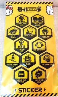 SANRIO 2011年😃共12款STICKER 贴纸