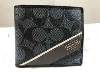 COACH HTS COMPACT ID WALLET