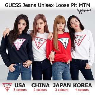 GUESS x Blackpink, LOTTE Korea Exclusive