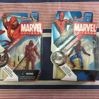 Marvel Universe Spider-Man & Hand Ninja