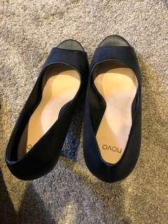 Size 10 Novo Open Toe Heels