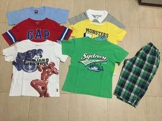 Boy clothes bundle for 7 y/o