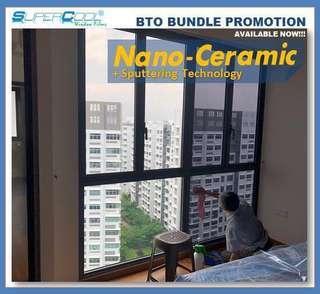 BTO HDB SuperCool Window Films Package promotion
