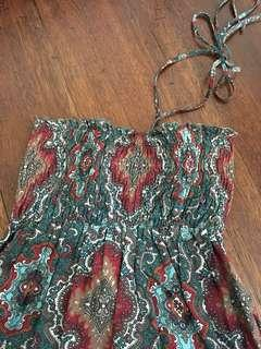 PRE-LOVED Paisley Summer Dress [Extra Small]