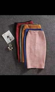 🚚 Plus Size Skirt (Light Pink)