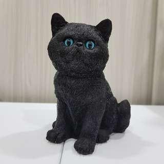 °☆ 珮齊精品舖 ☆° 仿真 黑貓存錢筒 擺飾 魔女琪琪的黑貓 撲滿