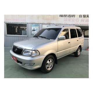 【SUM尼克汽車】2007 Toyota豐田 ZACE SURF瑞獅 七人座 1.8L