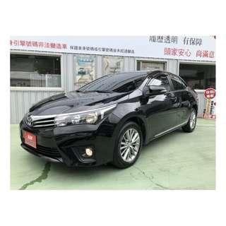 【SUM尼克汽車】2014 Toyota Corolla Altis 1.8L