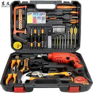 116 pcs electronic tools to impact drill