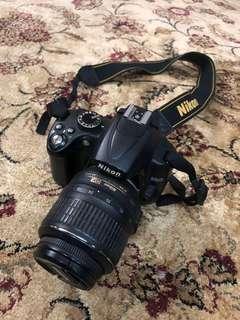 Nikon D5000 + NIKKOR 18-55mm Lens