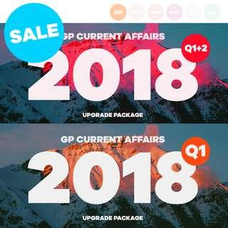 [SALE] [Upgrade Package] GP Current Affairs Notes / GP Examples #single11