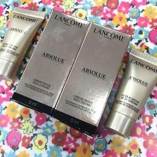 Lancome Absolue Rich Cream 極緻完美玫瑰滋潤面霜