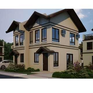 2 bedroom and 2 storey House and Lot