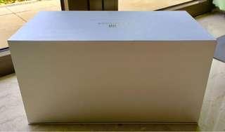 Premium silver rectangle box