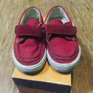 Evans Red Shoes