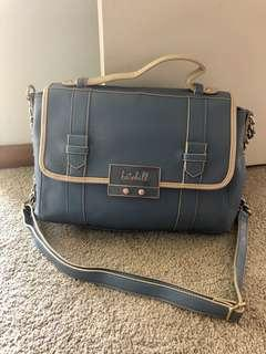 Pastel blue bag