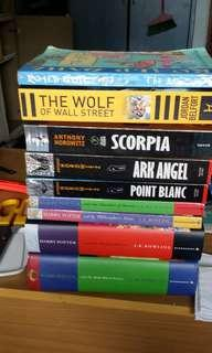 Assorted books $5 each part 3