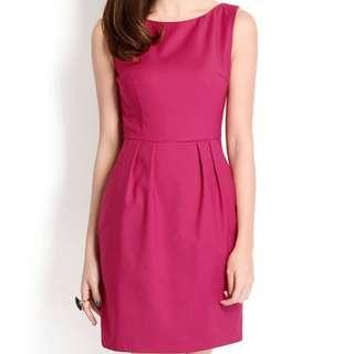 Lilypirates Keeping It Classy Dress In Magenta