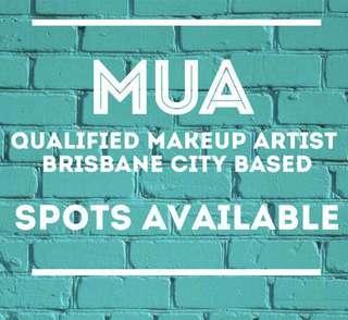 MUA- spots available🌈