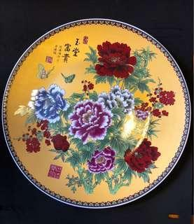 景德鎮粙彩大瓷碟