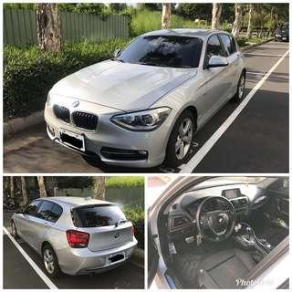 「可全貸」2013年 BMW F20 116I 實跑9.6萬公里 有藍芽 導航 倒車顯影 整合行車紀錄器 比魂動馬3還便宜 不買BMW嗎?