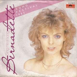 BERNADETTE - Sing me a song