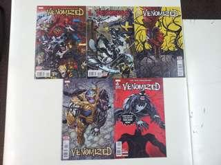 Venomized (2018 Marvel) Comics Set