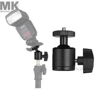 Selens metal Mini ball head for camera / tripod ballhead MK-9 flash bracket