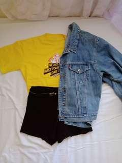 (SALE!!)Tshirt & oversized jacket