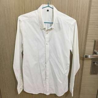 修身白色裇衫 White Shirt