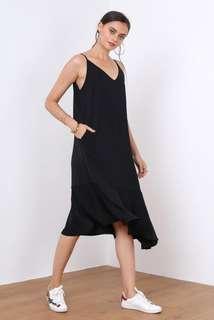 Supergurl (Exclusive) Ruffled Bottom Dress