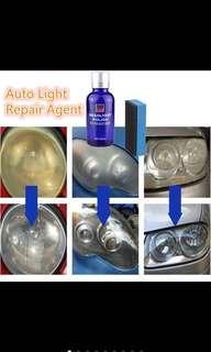 Car/motorcycle headlight oxidation polish