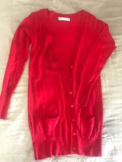 Zara Knit Basic Cardigan