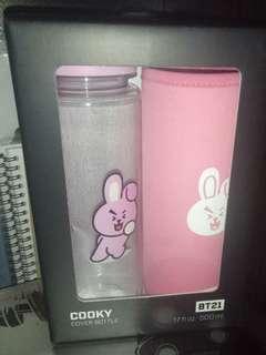 BT21 Cooky Jungkook Bottle Set