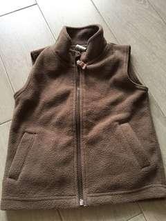 Fleece Vest for winter weather 3-4y