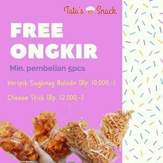 Tata's Snack - keripik singkong