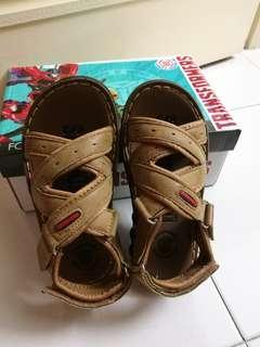 Transformer kids sandal
