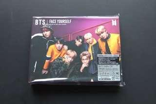 BTS FACE YOURSELF SEALED (CD + DVD VER.)