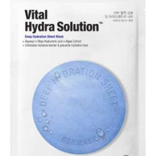 Dr. Jart+ Vital Hydra Solution Deep Hydration Sheet Mask per pc