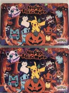 Limited edition brand new Pokémon Happy Halloween Ezlink card for sale .